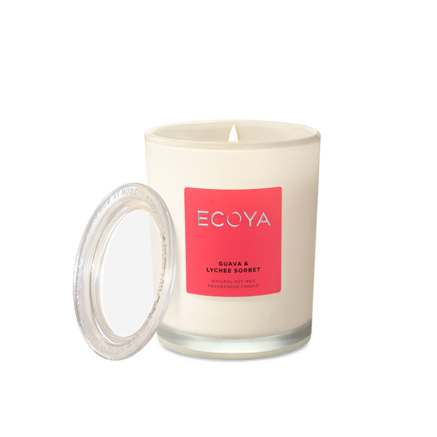 Guava & Lychee Sorbet Metro Jar Candle