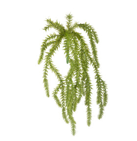 Artificial Hassle Fern 39cm Green