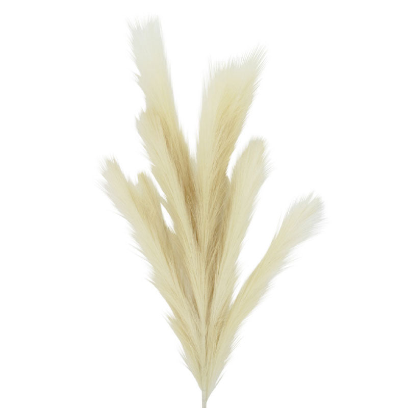 Artificial Pampas Grass Ivory