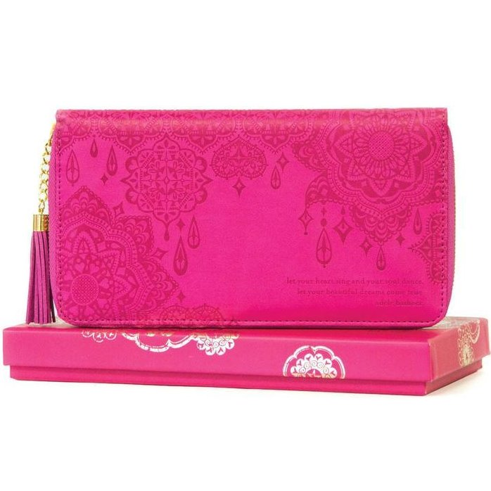 Carnival Pink Travel Clutch