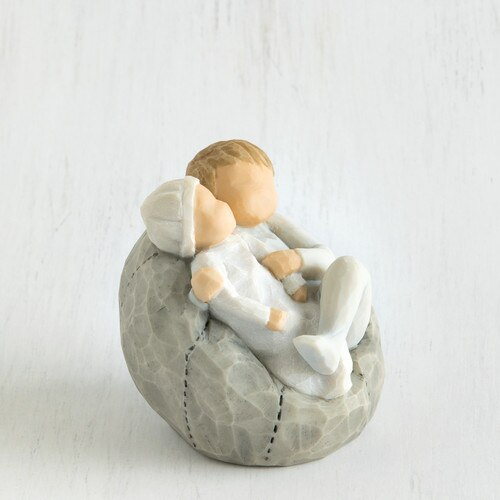 'My New Baby' Figurine
