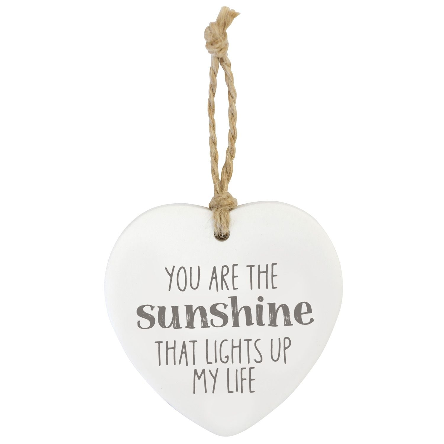 Sunshine Loving Hanging Heart