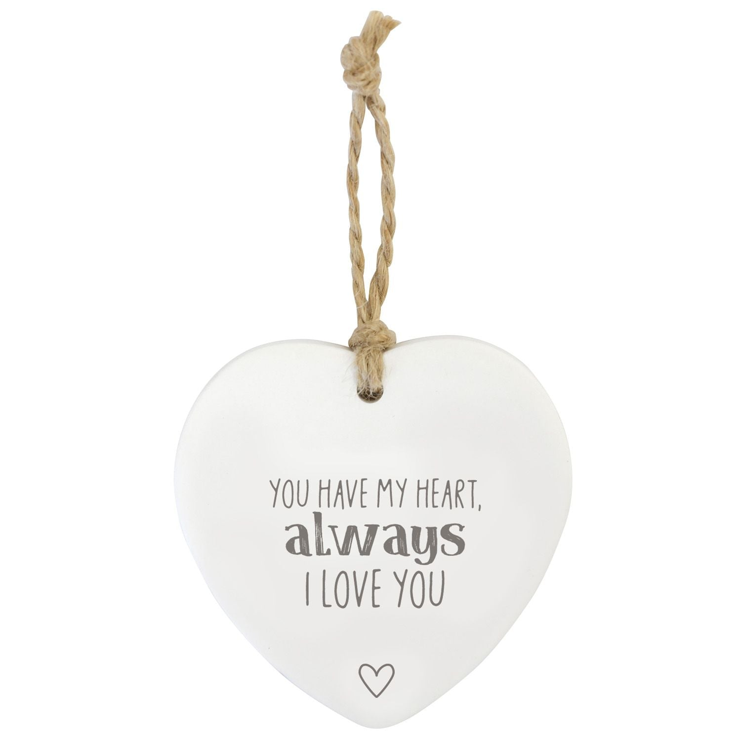 Love Always Hanging Heart
