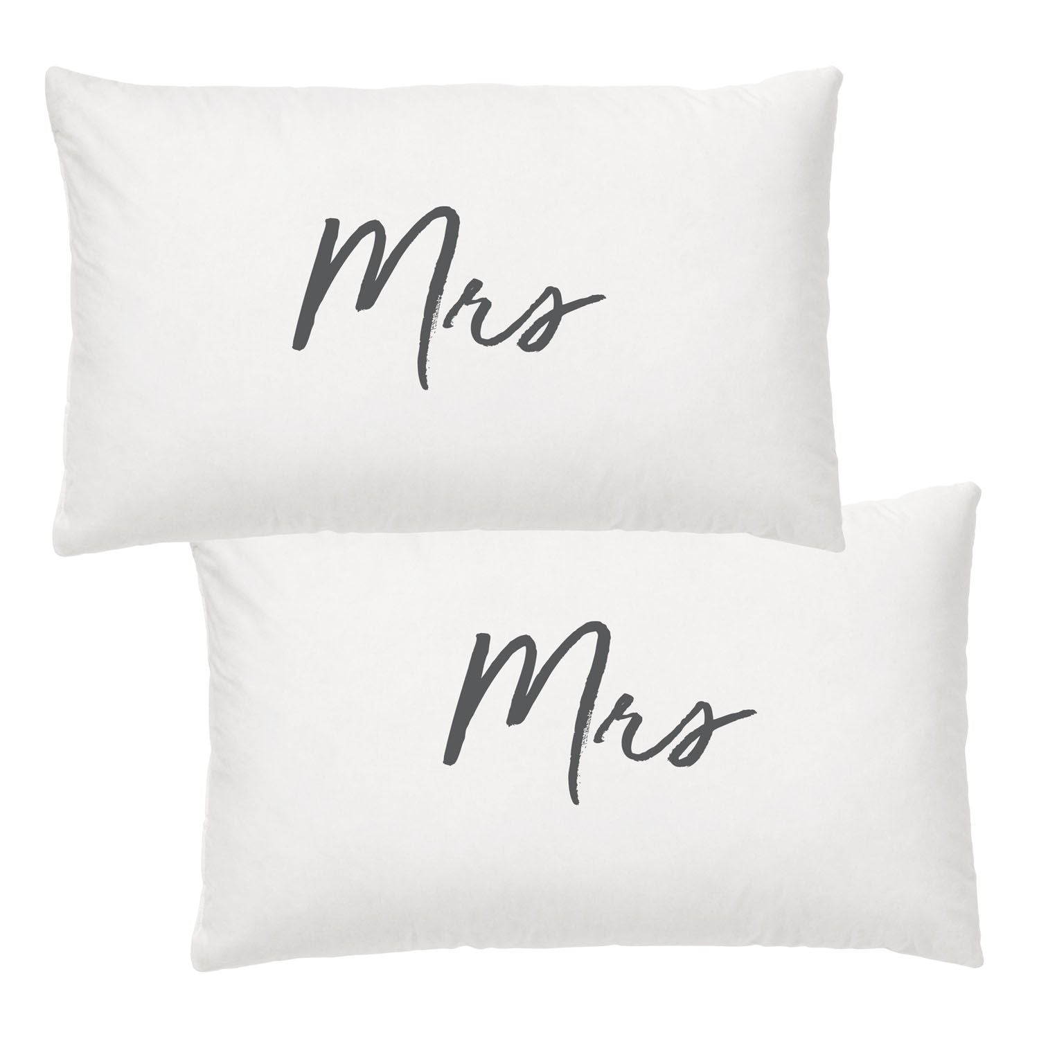Mrs & Mrs Pillowcase