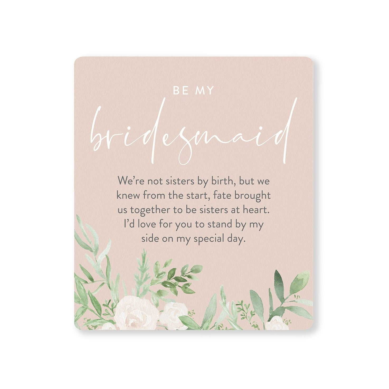 Bridesmaid Verse