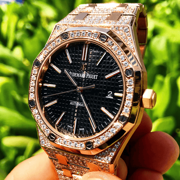 Custom Audemars Piguet - Royal Oak 41 - Rose Gold