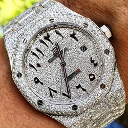 Custom Audemars Piguet - Royal Oak 41mm - Arabic Dial