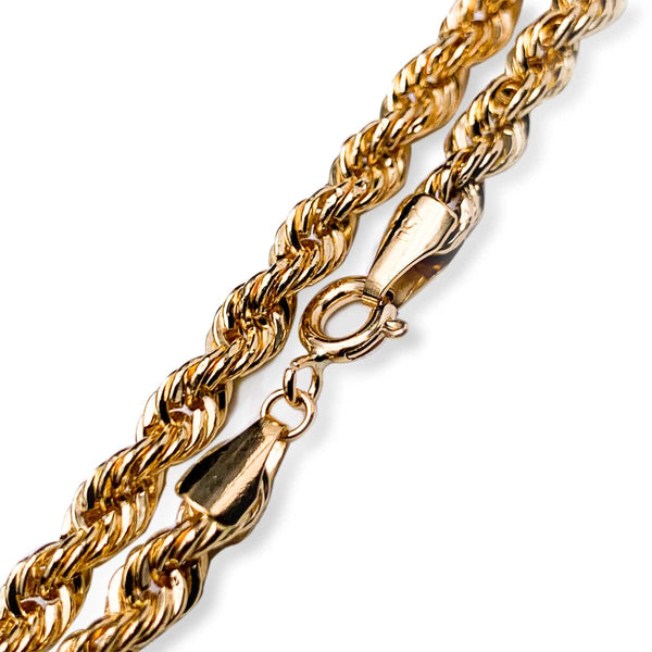 18K Gold Classic Rope Chain
