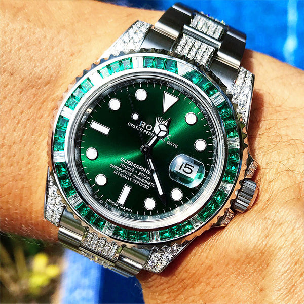 Custom Rolex Submariner - Hulk