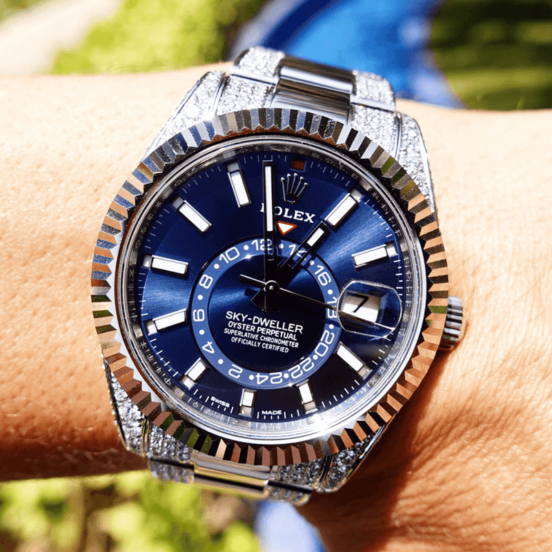 Custom Rolex - Sky-Dweller Blue