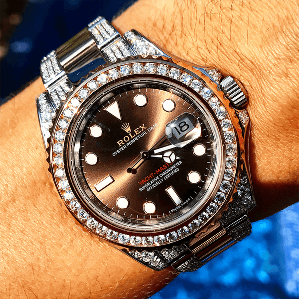 Custom Rolex Yacht-Master - Chocolate