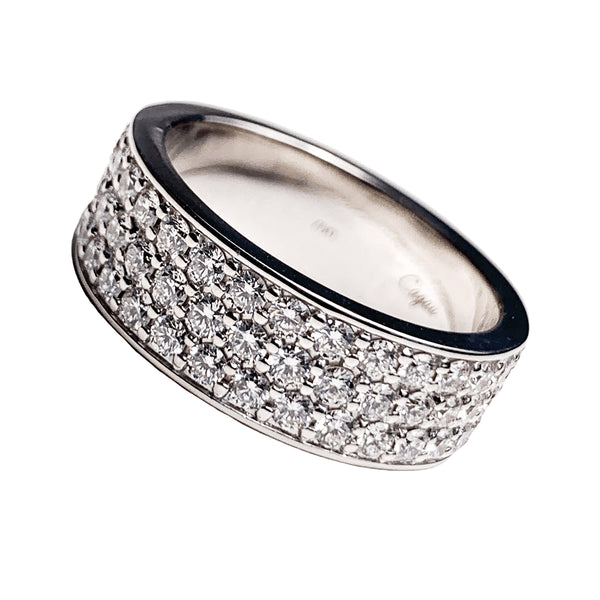 18K White Gold Eternity Ring - 4.3ct Diamonds