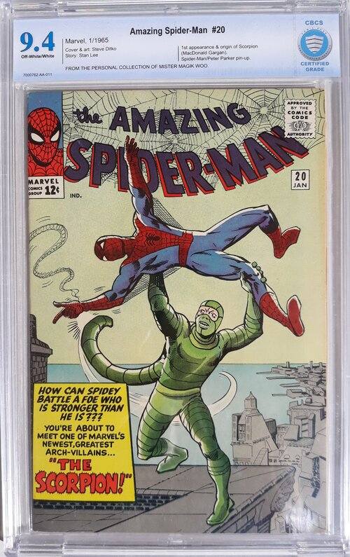Amazing Spider-Man 20 CBCS 9.4