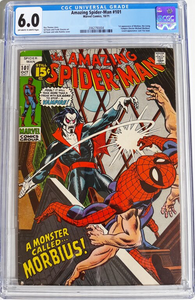 Amazing Spider-Man 101 CGC 6.0 OW/W