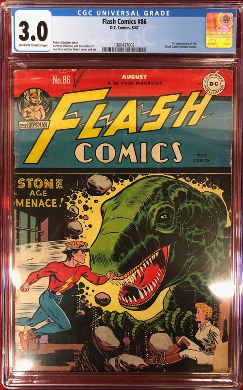 Flash Comics 86 CGC 3.0