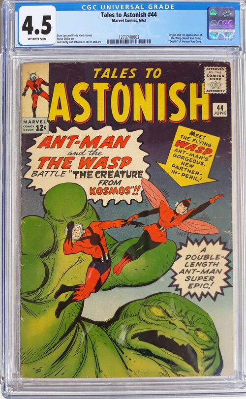 Tales to Astonish 44 CGC 4.5