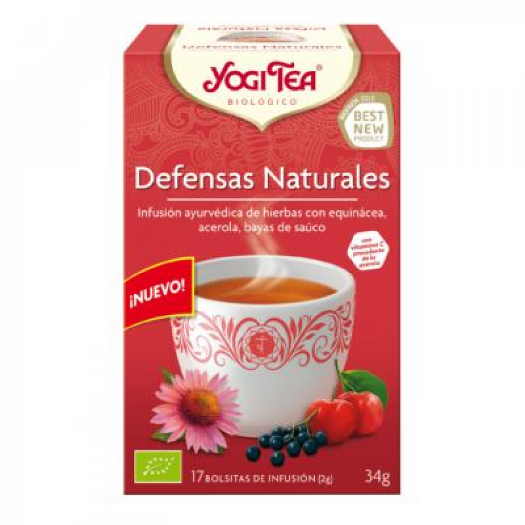 Yogi tea defensas naturales bio 17 bolsitas