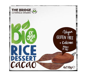 Postre de Arroz y Chocolate Pack 4 x 110g Bio