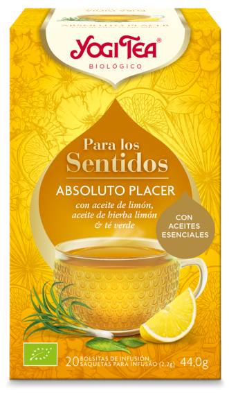 Yogi tea sentidos absoluto placer bio 20 bolsitas