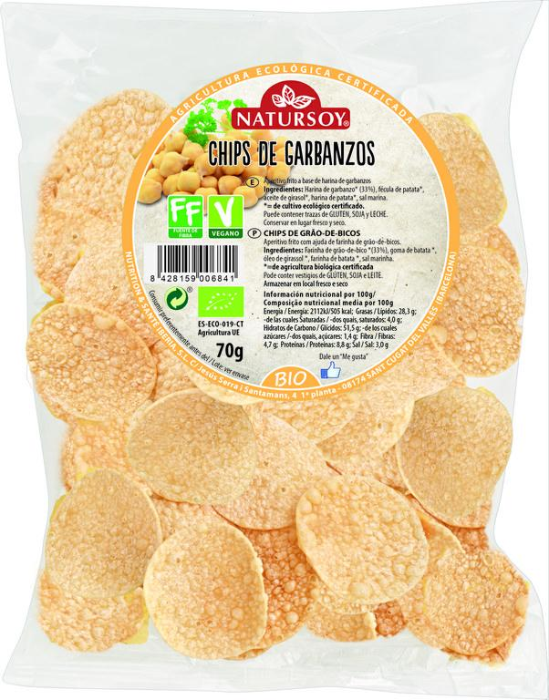 Chips de Garbanzos Bio 70g