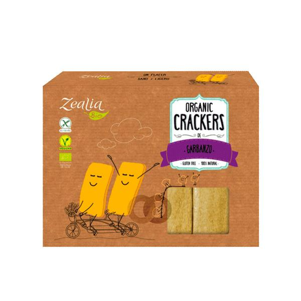 Crackers de Garbanzo Sin Gluten Bio 120g
