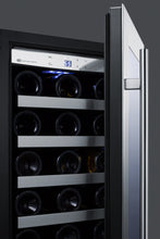 "Load image into Gallery viewer, Summit Appliance - 15"" Wide Built-In Wine Cellar with Stainless Steel Trim - CL15WC"