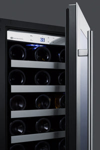 "Summit Appliance - 15"" Wide Built-In Wine Cellar with Stainless Steel Trim - CL15WC"