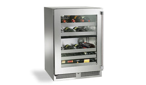"Perlick - 24"" Signature Series Dual-Zone Outdoor Wine Reserve - HP24DO-3"