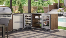 "Load image into Gallery viewer, Perlick - 24"" Signature Series Dual-Zone Outdoor Wine Reserve - HP24DO-3"