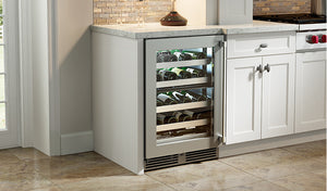 "Perlick - 24"" Signature Series Dual-Zone Wine Reserve - HP24DS-3"
