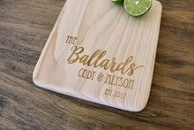 Load image into Gallery viewer, Custom Engraved Cutting Board