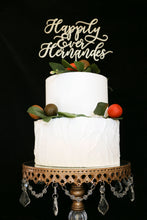 Load image into Gallery viewer, Custom Happily Ever Last Name Wedding Cake Topper