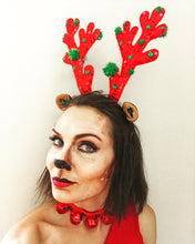 Load image into Gallery viewer, Sleigh All Day Antlers and Choker/Bracelets