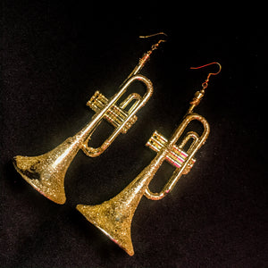 Blow Your Own Horn Earrings