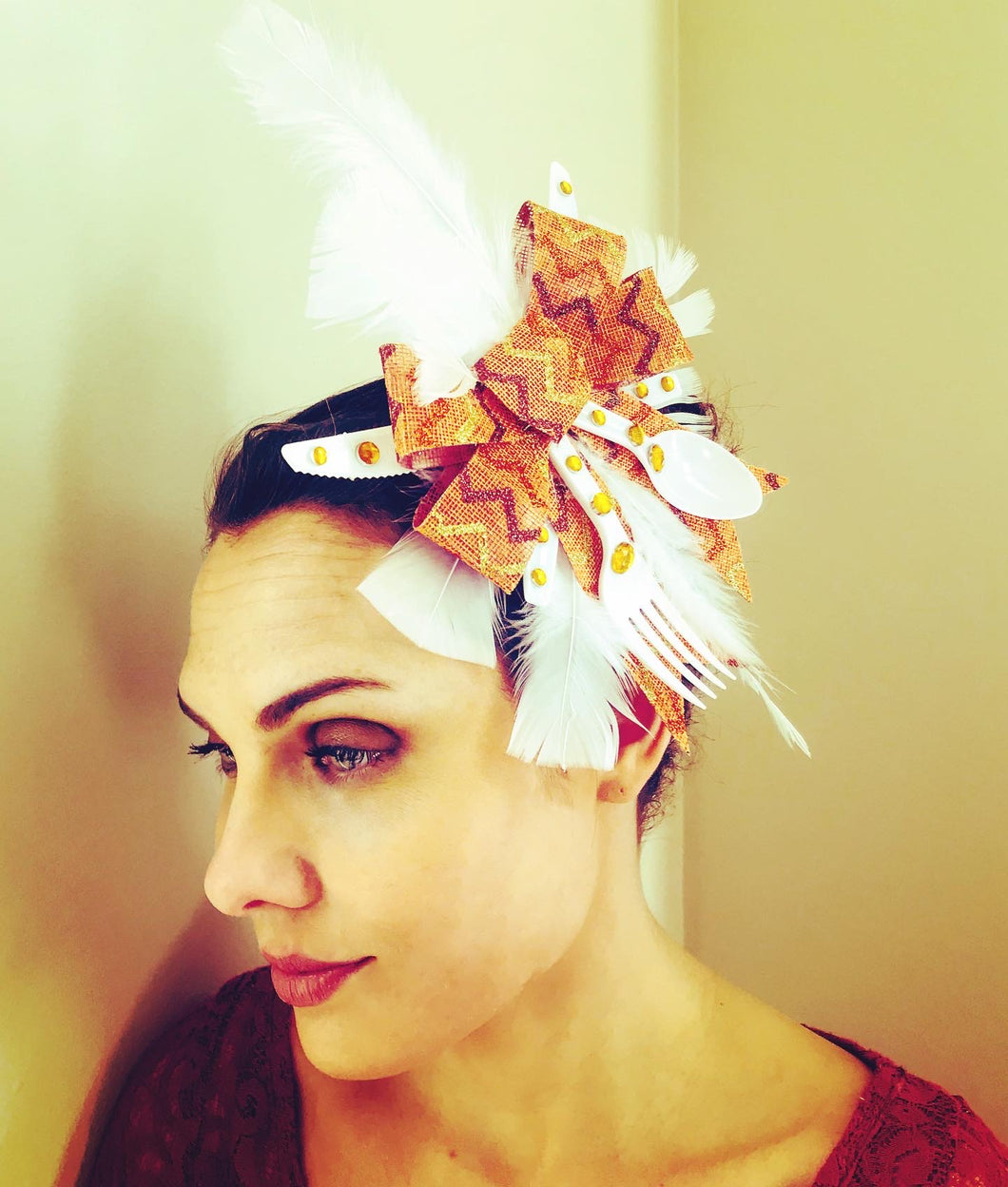 Feast Your Eyes Fascinator