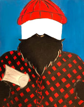 Load image into Gallery viewer, Bearded Lumberjack Photo Cutout