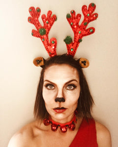 Sleigh All Day Antlers and Choker/Bracelets