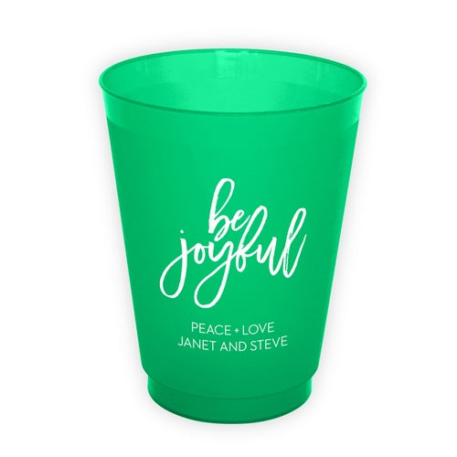 Personalized Holiday Cups