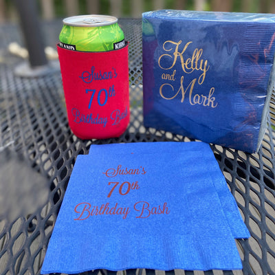 Custom Beverage Napkins