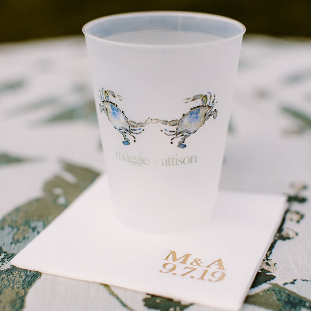Frosted Shatterproof Custom Cups