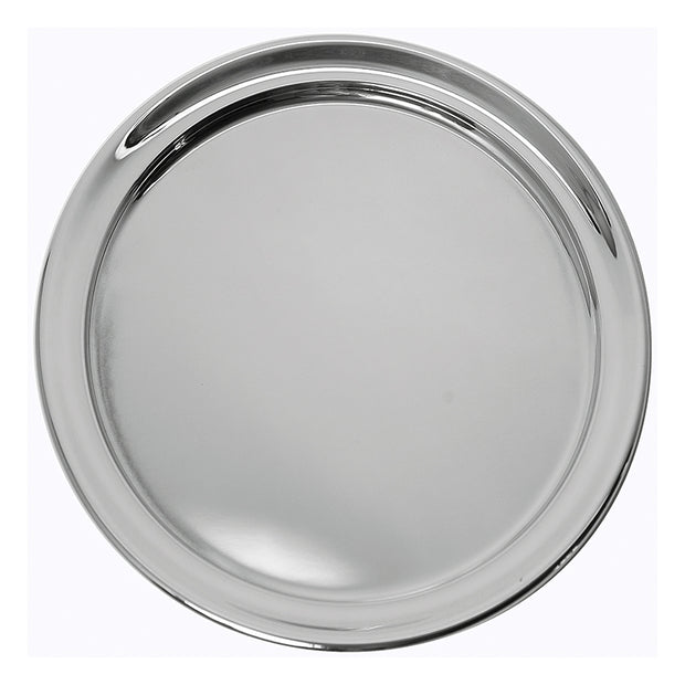 Pewter Serving Tray 13""