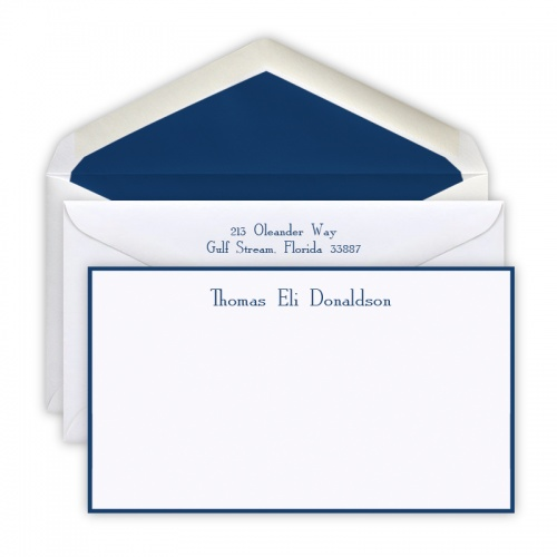 Border Stationery Cards