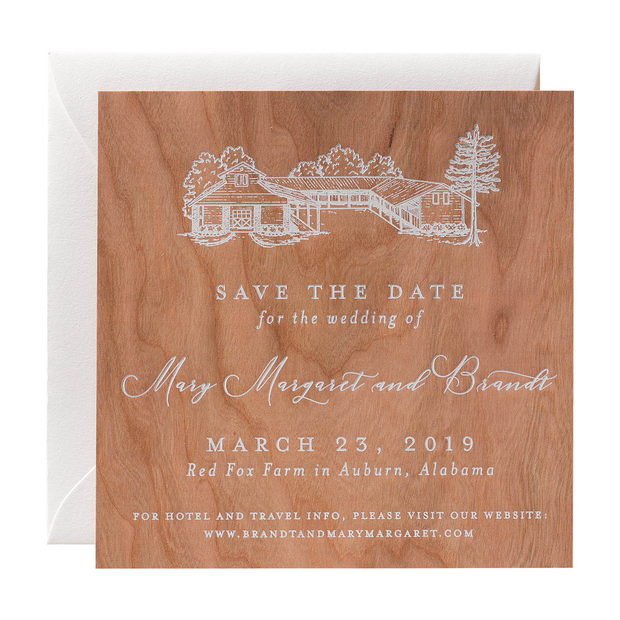 Custom Save the Date