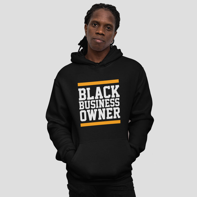 Black Business Owner Hoodie