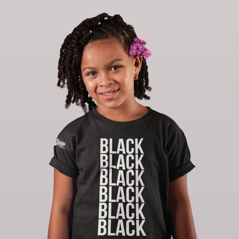 Kids BLACK Shirt