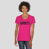 Ladies GRIIIITS V-Neck T-Shirt