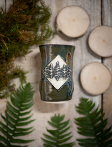 Forest Diamond Tumbler
