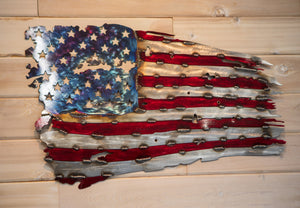 American Battle Flag- Metal Art