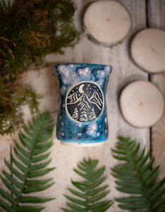 Galaxy Mountain Tumbler