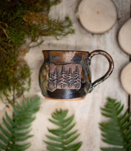 Oregon Copper Forest Mug